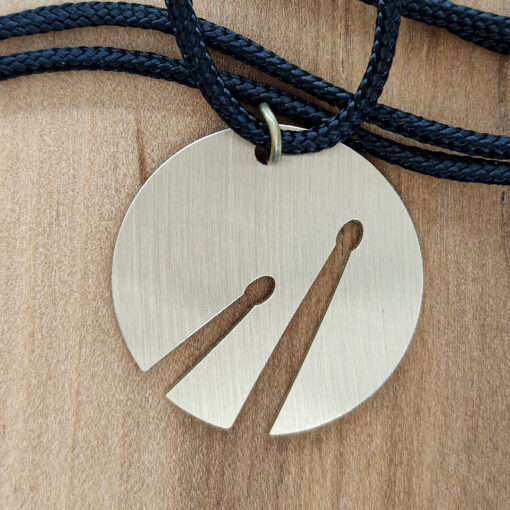 Sticks necklace - close up